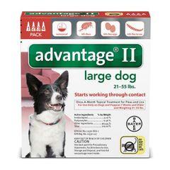 Advantage Dog 21-55#