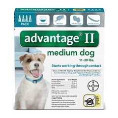 Advantage Dog Over 11# - 20#