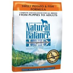 Natural Balance LID Fish & Rice 13#