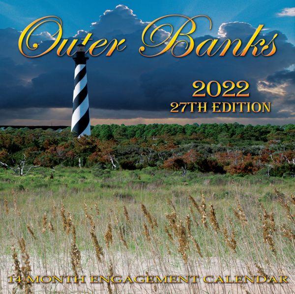OBX 2022 12x12 Calendar