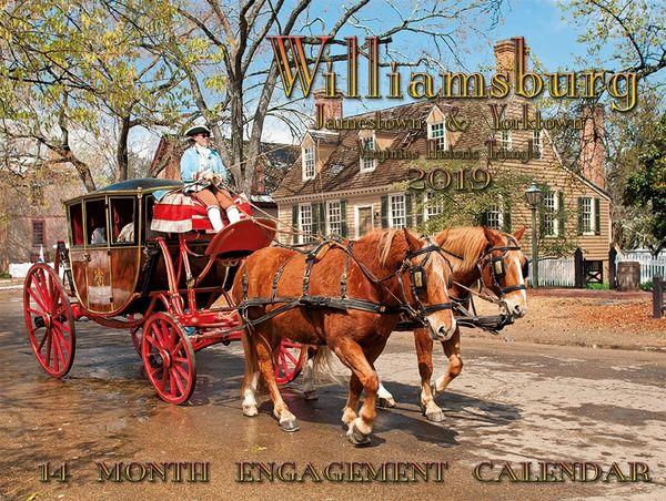 """Williamsburg/Jamestown/Yorktown 9""""x 12"""" 2019 ( A Front cover)"""