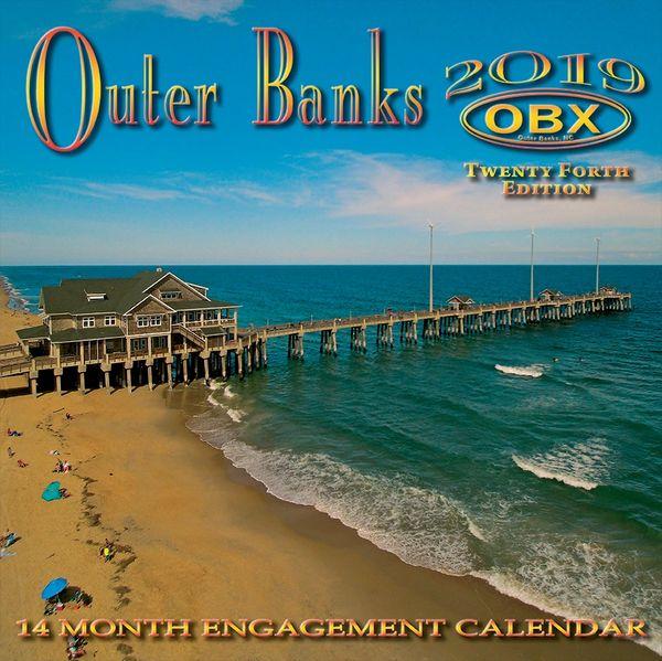 "OBX 2019 12"" x 12"" Calendar (Front cover)"