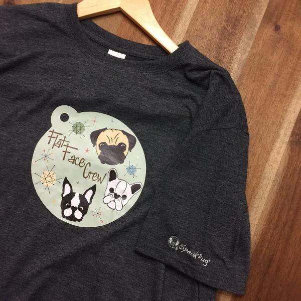 Flat Face Crew - Grey Heather Shirt -