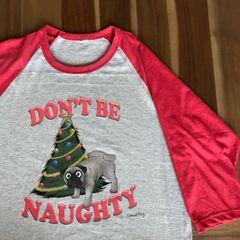 Naughty Christmas Pug