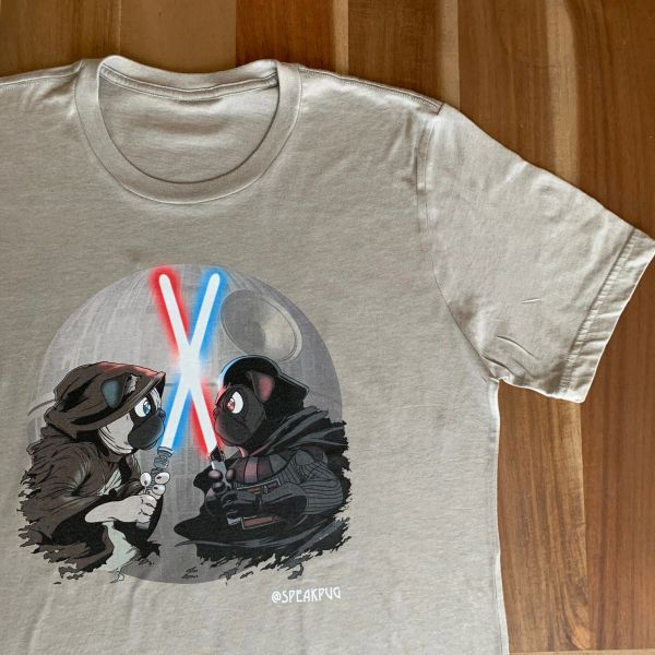 Pug Wars (MENS Heather Stone)