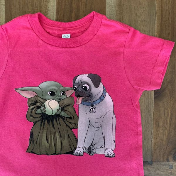 Kid and Pug PINK [Toddler]