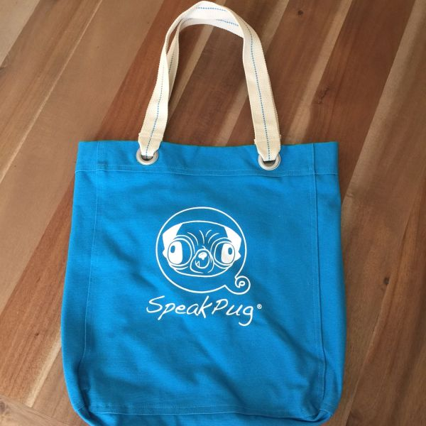 Tote Bag Original Logo Blue