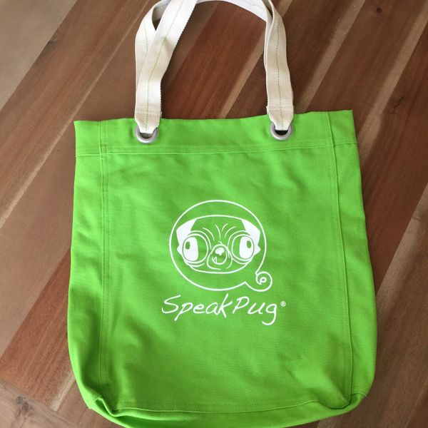 Tote Bag Original Logo Green