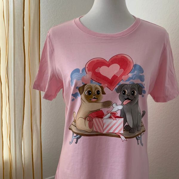 PUG LOVE [WOMENS RELAXED]
