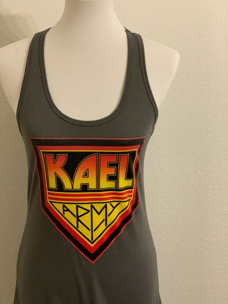 KAEL ARMY [WOMEN'S RACER TANK]