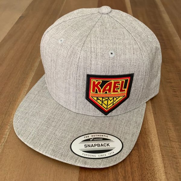 KAEL ARMY ALL HEATHER HAT