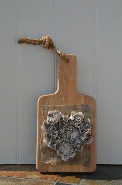 Wooden Flower Board