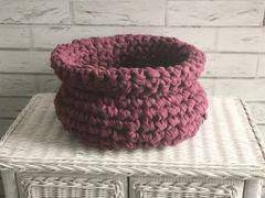 Repurposed Fabric basket