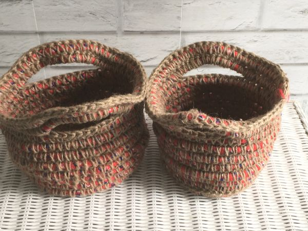 Jute and Paracord Basket