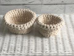 Cotton Cord Baskets