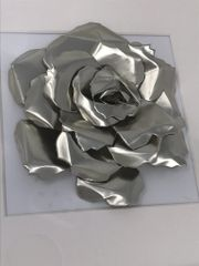 Pewter Metal Rose
