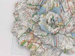 Personalised Road Map Rose