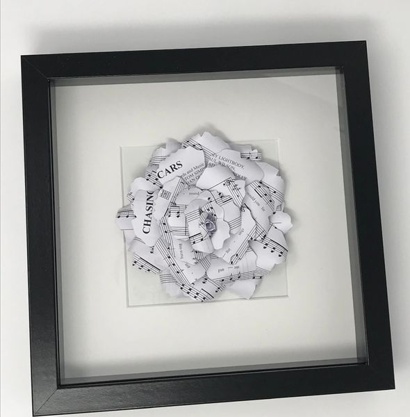 Bespoke Music Paper Rose