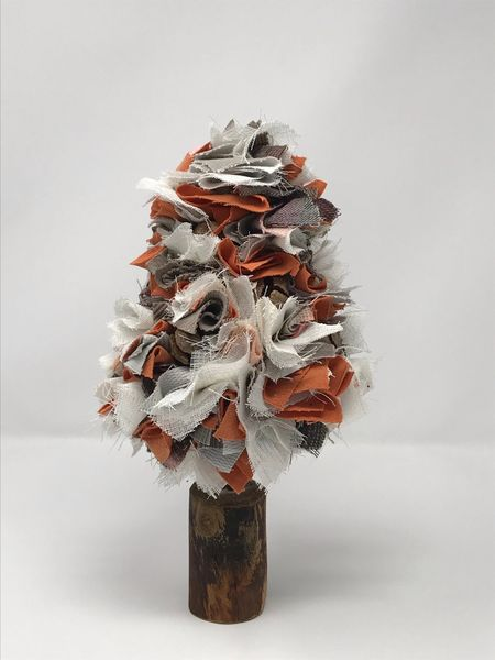 Fabric Christmas Tree - Autumnal Small (2)