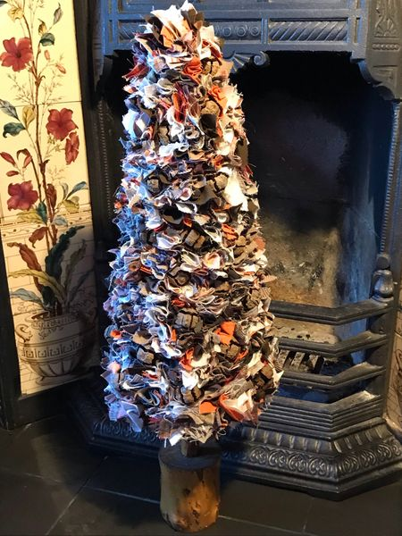 Fabric Christmas Tree - Autumnal (XL)