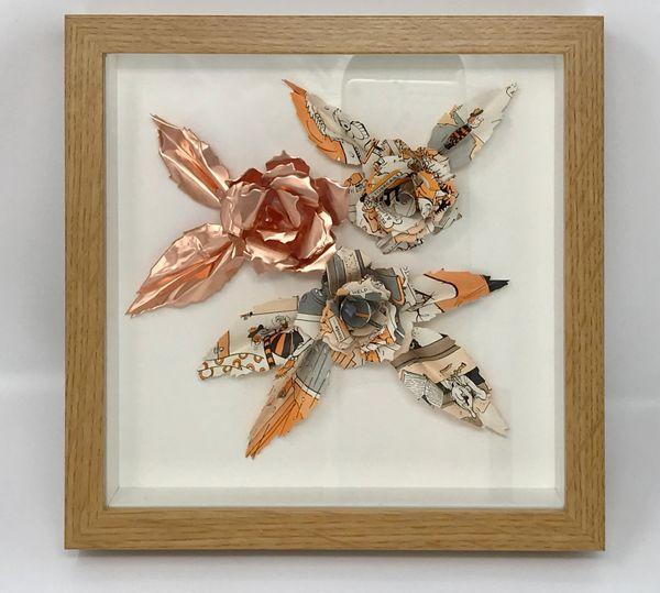 Copper Comic Frame
