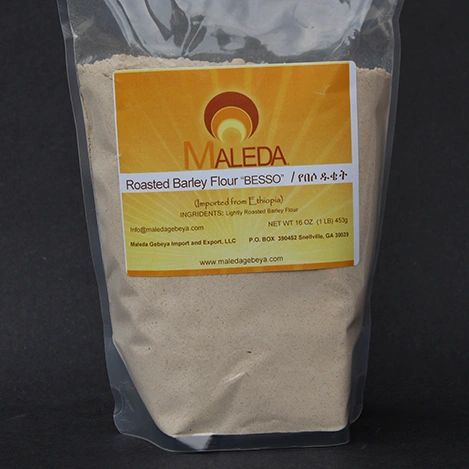 Roasted Barley Flour [BESSO] 1Lb.