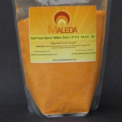 Split Pea Flour with Red Pepper [MITTEN ATTER SHIRO] 1Lb.
