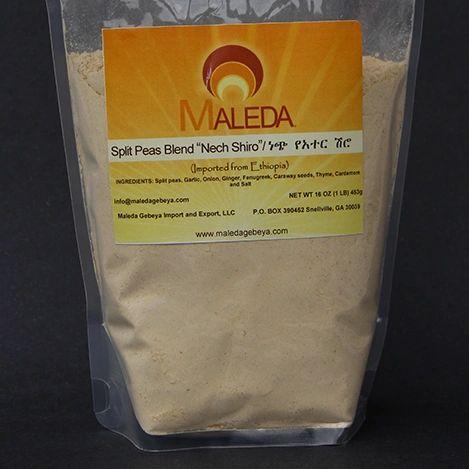 Split Pea Flour Plain [SHIRO ALECHA] 1Lb.