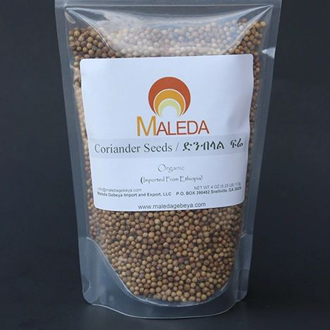 Coriander Seeds [DIMBILAL] 4 Oz.