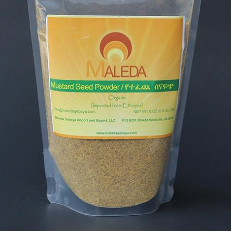 Mustard Seed Powder [SENA-FITCH] 1/2Lb.