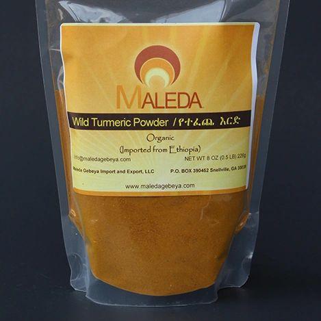 Wild Turmeric Powder [IRD] 1/2Lb.