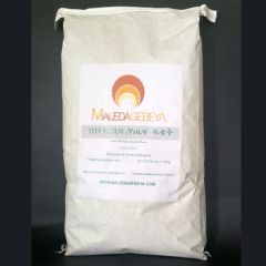 BROWN TEFF FLOUR - 25LB BAG