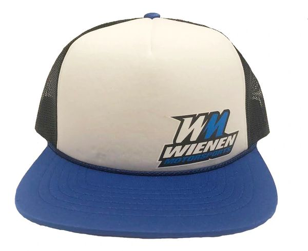 Blue/White/Black WM Trucker Hat