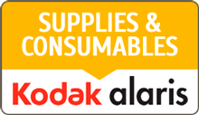 Kodak Extra Large Feeder Consumables Kit for i100 or i200 or i1400 Series Scanners