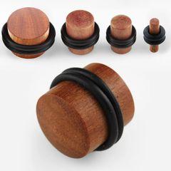 Teak Wood Plug 8g