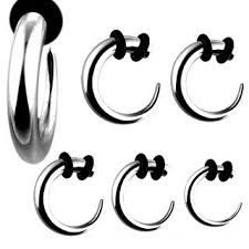 316L Surgical Stainless Steel Hook Tapers 12g