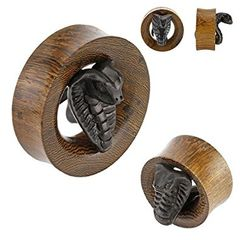 Cobra Hand Carved Wood Tunnel 1/2""