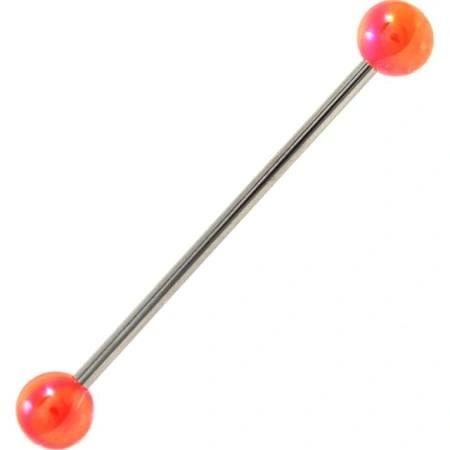 316L Steel Industrial with Metallic Ball orange