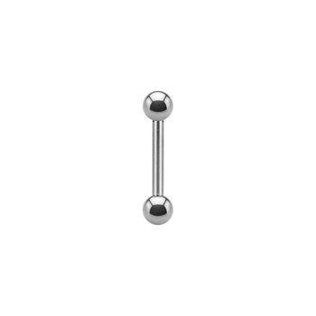 """316L Steel Barbell 18g 3/8"""""""