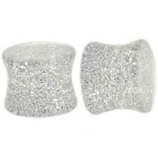 UV Acrylic Metallic Glitter Saddle Plug 8g