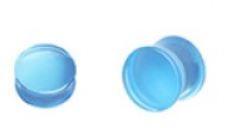 UV Acrylic Transparent Saddle Plug 6g