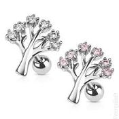 tree gemmed barbell 16g