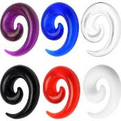 Spiral Acrylic Taper 12g
