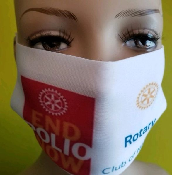 Artful Breather...End Polio Now - Rotary