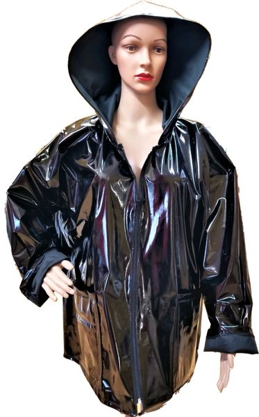 Black rain slicker...SOLD!