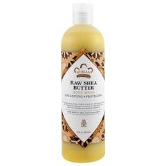 Nubian Heritage Raw Shea Butter Body Wash with Soy Milk, Frankincense & Myrrh