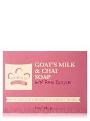 Nubian Heritage Goat's Milk & Chai Soap with Rose Extract