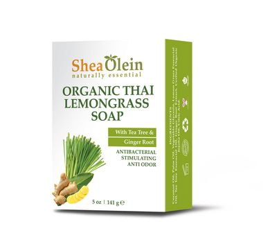 Organic Thai Lemongrass Soap > Shea Olein Brand
