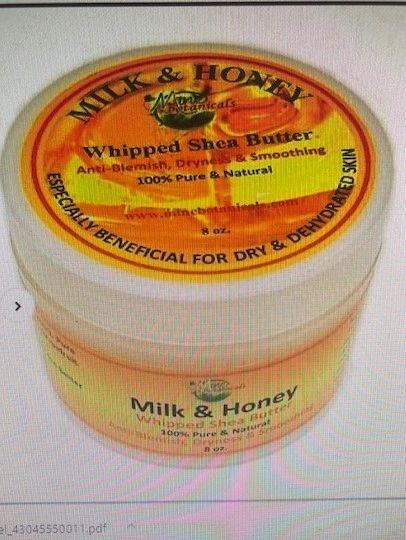 Milk & Honey Whipped Shea Butter