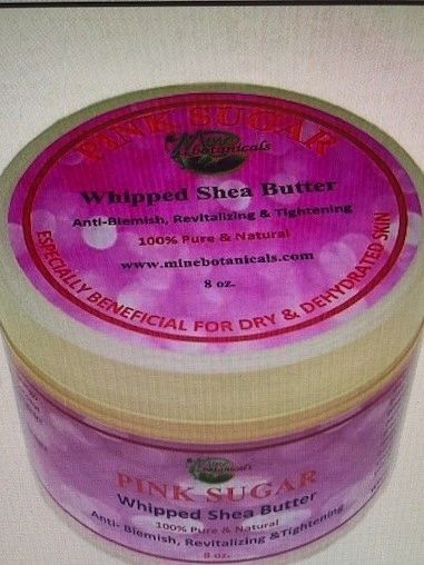 Pink Sugar Whipped Shea Butter